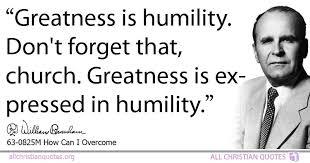 william marrion branham quote about humility seasons sword