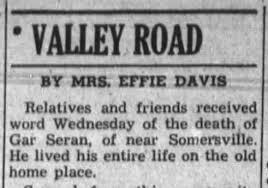 James Gafield Seran Death Notice - Newspapers.com