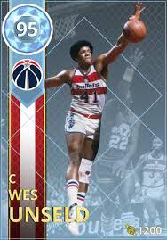73 Wes Unseld (95) - NBA 2K18 MyTEAM Diamond Card - 2KMTCentral