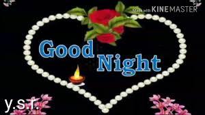 good night friend hindi to english