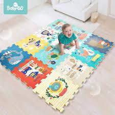 Babygo Baby Crawling Pad Thickened 2cm Tasteless Xpe Foam 6pcs Play Mat Kids Living Room Cartoon Non Slip Play Game Toys Mat Play Mats Aliexpress