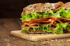 subway 6 inch ham cheese on wheat bread