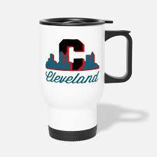 cleveland ohio themed gifts travel mug