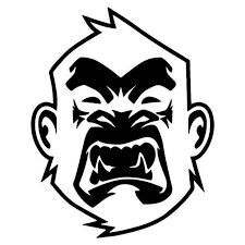 Angry Monkey Face Jdm Japanese Vinyl Sticker