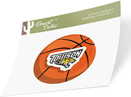 Amazon Com Towson University Tu Tigers Ncaa Vinyl Decal Laptop Water Bottle Car Scrapbook Basketball Logo Sticker Arts Crafts Sewing