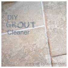 homemade cleaner grout cleaner the