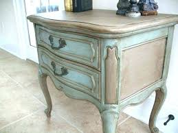 inspiring chalk painted bedside tables