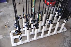 diy fishing rod holders for garage