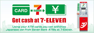 you can withdraw anese yen from atms