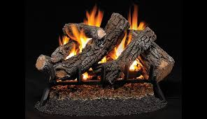 vented gas log set appalachian oak