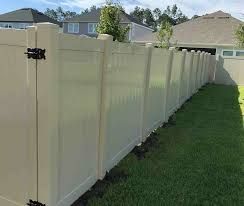 Nocatee Vinyl Fence Installation American Fence And Railing A Jacksonville Fence Company