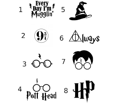 Harry Potter Vinyl Decal For Car Home Locker Or Anywhere Rebel Rd Auth