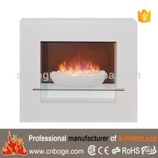 electric fireplace modern space heater