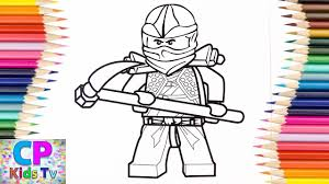 Lego Ninjago Cole Zx Coloring Pages,How to Color Lego Ninjago ...