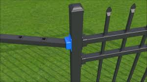 Xcel Fence 3 Rail Fence And Gate Installation Overview Youtube