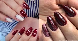 Манікюр кольору бордо, наймодніший колір осені Маникюр дома: варианты оригинального домашнего дизайна ногтей