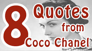 quotes from coco chanel coco chanel motivational quotes