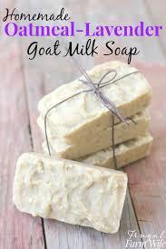 oatmeal lavender goat milk soap the