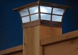 8 Pack Solar Post Cap Deck Fence Wall Mount Led Lights 4x4 5x5 6x6 Copper Color