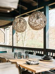 how to make a sisal rope pendant light