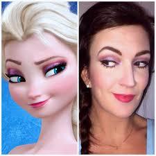 elsa frozen face makeup saubhaya makeup