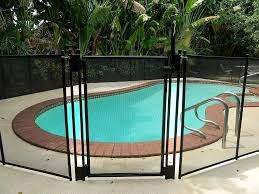Amazon Com Pool Fence Diy By Life Saver Self Closing Gate Kit Black Garden Outdoor Pool Fence Mesh Pool Fence Modern Fence Design