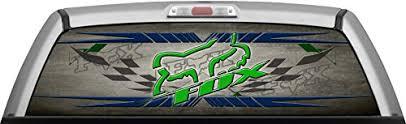 Fox Racing Grunge Race Window Wrap T Buy Online In Brunei At Desertcart