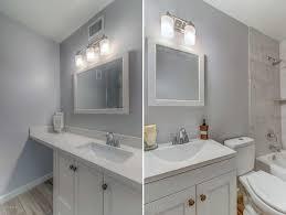 kitchen bath remodel white shaker