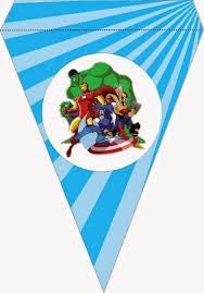 Invitacion E Imprimibles Para Fiestas De Los Vengadores Para