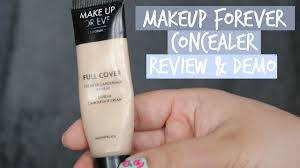 makeup forever ultra hd concealer