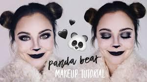 panda bear makeup tutorial you