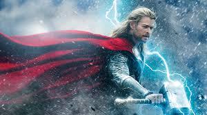 thunder thor chris hemsworth wallpaper