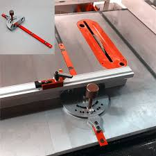 Miter Gauge Bandsaw Table Saw Router Angle Miter Gauge Guide Fence Engraving Machine Reversal Woodworking Diy Standard Aluminium Woodworking Machinery Parts Aliexpress