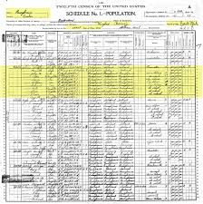 A Genealogy Hunt: Part 753h – Brunhammer Doherty Genealogy – 1900 Twelfth  US Census – Holmes Family – Lansford, Carbon County, Pennsylvania