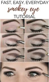 smoky eye makeup steps with pictures