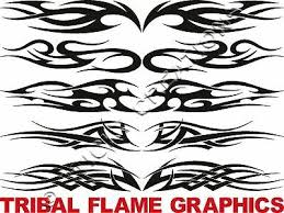B Tribal Flame Window Graphic Stickers Decal Front Rear Ebay