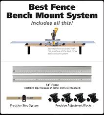 Best Fence Bench Mount System Fastcap