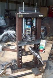 homemade mini hydraulic press