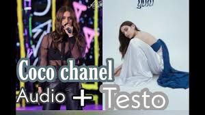 Gaia- Coco Chanel TESTO+AUDIO - YouTube