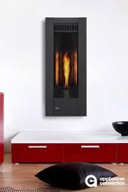 ultra modern direct vent gas fireplace
