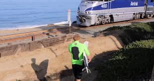 Residents Fight Plan To Fence Coastal Railroad Tracks The San Diego Union Tribune