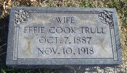 Effie Cook Trull (1887-1918) - Find A Grave Memorial