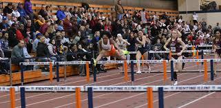 Pedrya Seymour Times 7.98, Wins 60m Hurdles on Day 2 of Rod McCravy -  University of Illinois Athletics