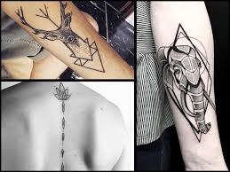 Tatuaze Geometryczne 32 Wzory Dla Perfekcjonistow Etatuator Pl