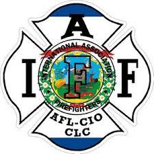 West Virginia Iaff International Association Firefighters Vinyl Sticker At Sticker Shoppe