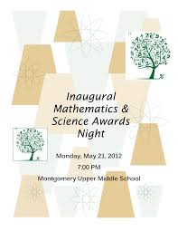 Inaugural Mathematics & Science Awards Night