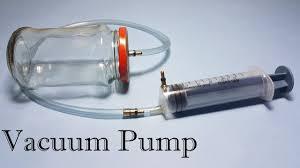 vacuum pump and vacuum chamber