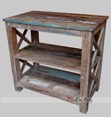 reclaimed wooden side table reclaimed
