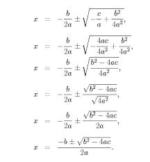 biomath quadratic functions