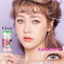 Kontaktlinsen Contact Lenses Color Pretty Doll Cosmetic Lens Adele Gray  14.0 mm   eBay